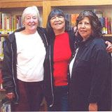 Tisa Jewell, Joycelyn Teague, and Marilyn Wilson
