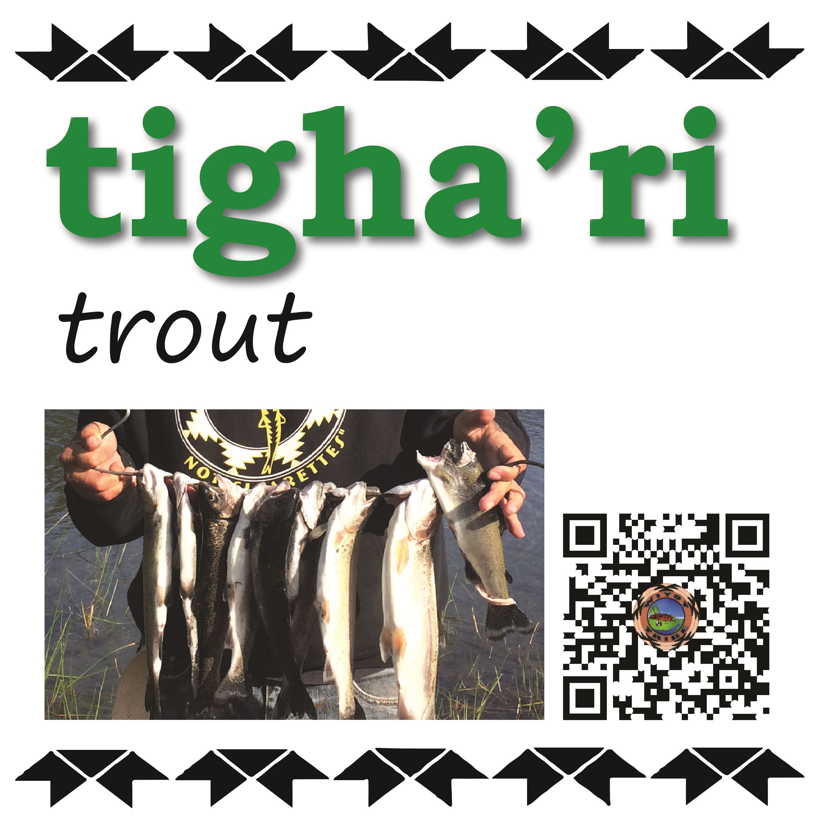 tigha'ri (trout)
